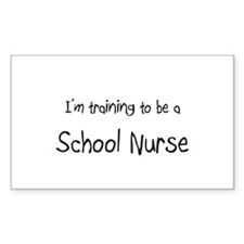 I'm training to be a School Nurse Decal