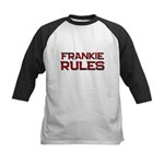 frankie rules Kids Baseball Jersey