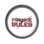 frankie rules Wall Clock