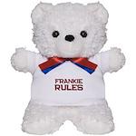frankie rules Teddy Bear