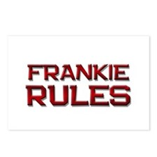 frankie rules Postcards (Package of 8)