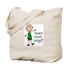 Recycle Boy Tote Bag