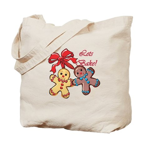 Lets Bake Gingerbread Tote Bag