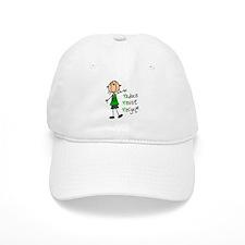 Recycle Girl Baseball Cap