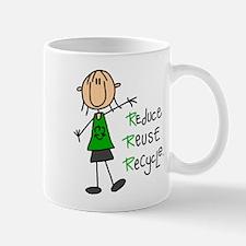 Recycle Girl Lefty Mug