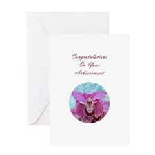 Pink Bearded Orchid Greeting Card