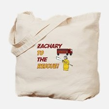 Zachary to the Rescue Tote Bag