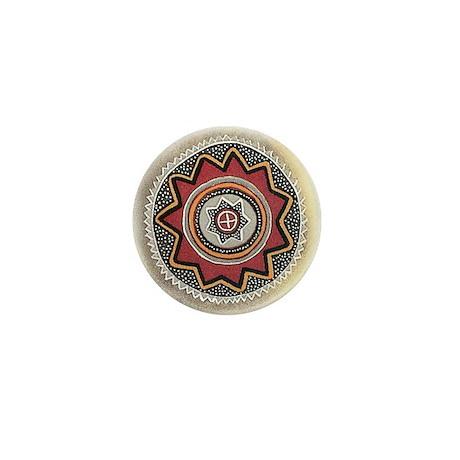 Chumash Sun Mini Button