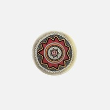 Chumash Sun Mini Button