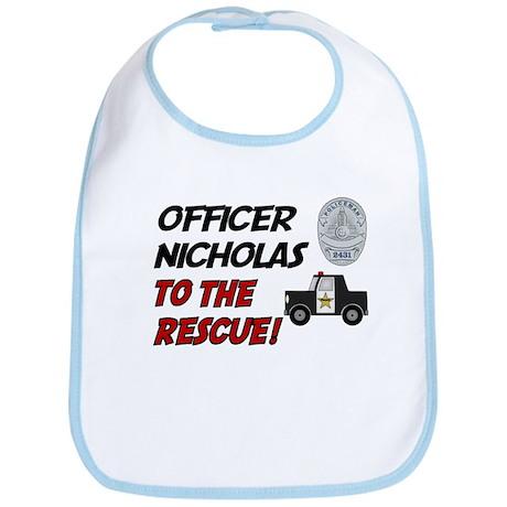 Nicholas - Police Rescue Bib
