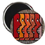 """Brick Wall"" 2.25"" Magnet (100 pack)"