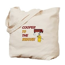 Cooper to the Rescue Tote Bag