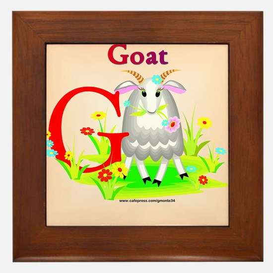 Goat Framed Tile