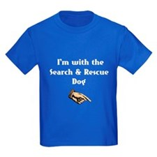 I'm with the Search and Rescue Dog T