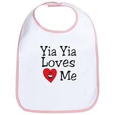 Yia Yia Loves Me Bib