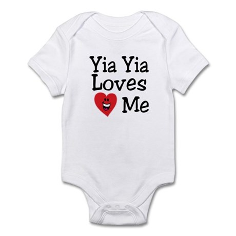 Yia Yia Loves Me Infant Bodysuit