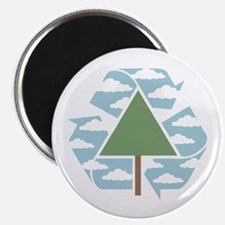 Recycle-Tree Magnet