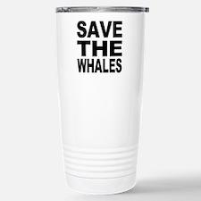 Cool Save the sharks Travel Mug