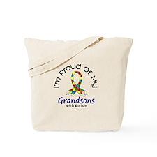 Proud Of My Autistic Grandsons 1 Tote Bag