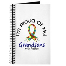 Proud Of My Autistic Grandsons 1 Journal