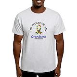 Autism grandsons Mens Light T-shirts