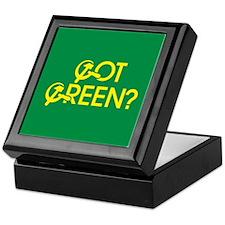 Got Green? Keepsake Box