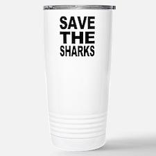 Save the sharks Travel Mug