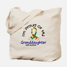 Proud Of My Autistic Granddaughter 1 Tote Bag
