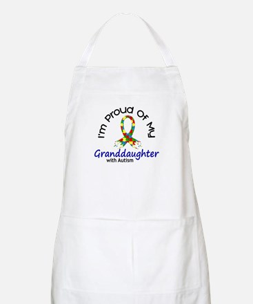 Proud Of My Autistic Granddaughter 1 BBQ Apron