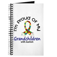 Proud Of My Autistic Grandchildren 1 Journal