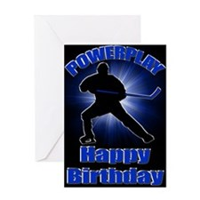 Powerplay Greeting Card