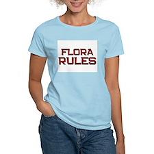 flora rules T-Shirt