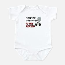 Christopher - Police Rescue Infant Bodysuit