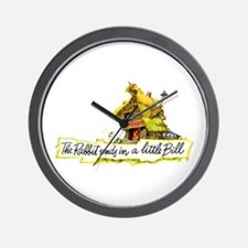 THE RABBIT SENDS IN A BILL Wall Clock