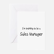 I'm training to be a Sales Manager Greeting Cards