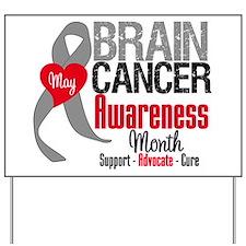 Brain Cancer Month Yard Sign