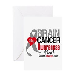 Brain Cancer Month Greeting Card