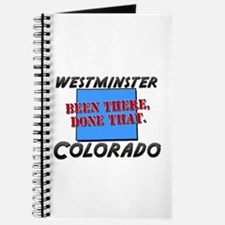 westminster colorado - been there, done that Journ