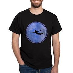 Leonardo da vinci Shirt Black T-Shirt