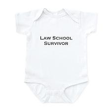 Law School Survivor Infant Bodysuit