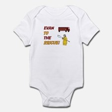 Evan to the Rescue Infant Bodysuit