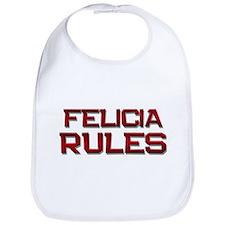 felicia rules Bib