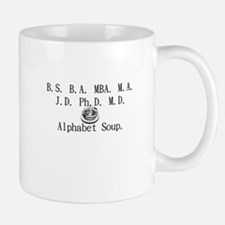 Alphabet Soup Small Small Mug
