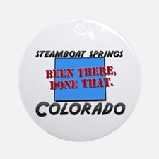 steamboat springs colorado - been there, done that