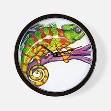 Cool Chameleon Wall Clock