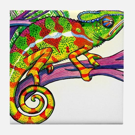 Lizard skin Tile Coaster