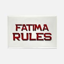 fatima rules Rectangle Magnet