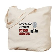 Ethan - Police Rescue Tote Bag