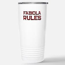 fabiola rules Travel Mug