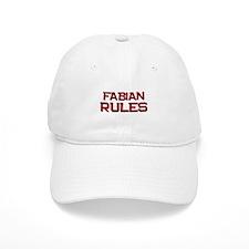 fabian rules Baseball Cap